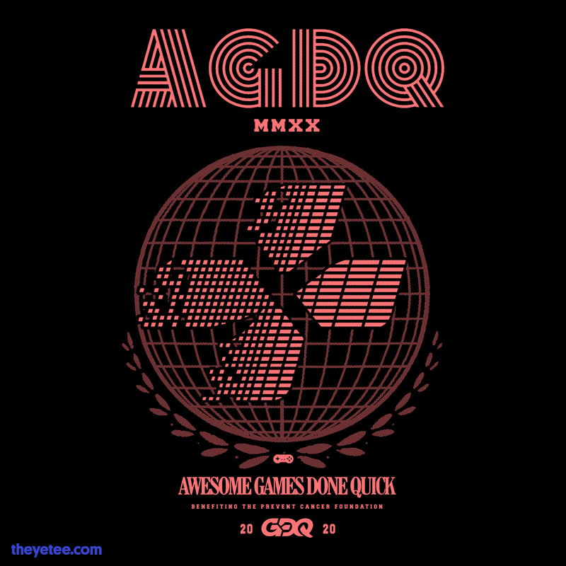 AGDQ 2020 Attendee-Exclusive Merch
