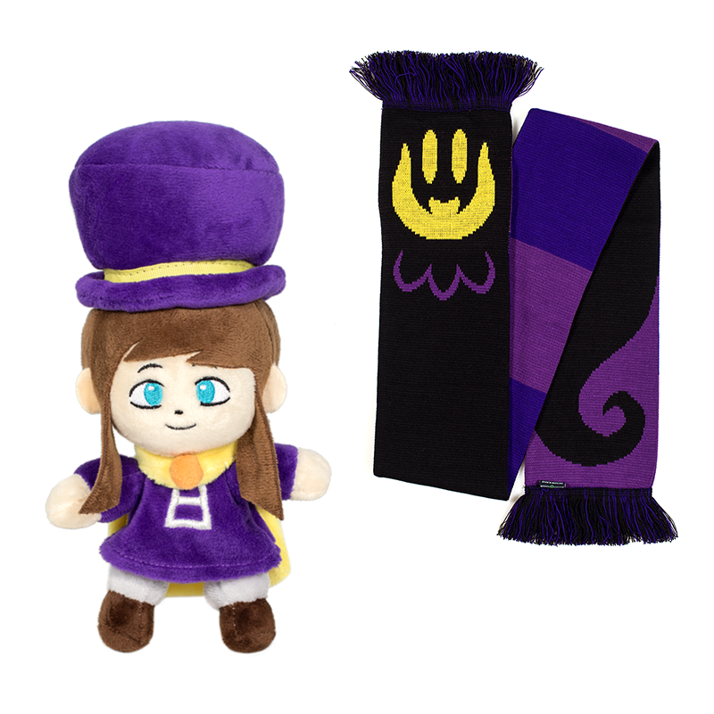 Hat Kid Plush and Snatcher Scarf Returning!