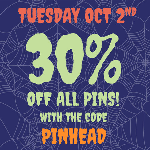tuesday 30% off