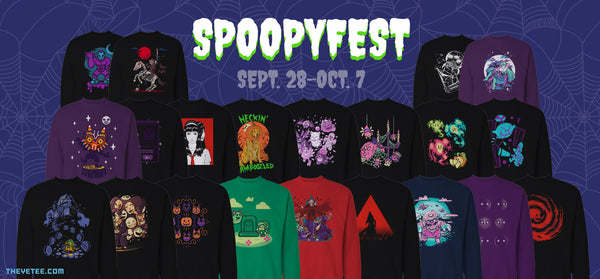Spoopyfest Has Begun The Yetee Share coupons for theyetee.com to community and earn rewards. spoopyfest has begun the yetee