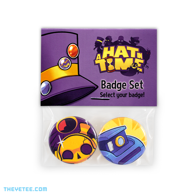 One Hit Hero Button Set - One Hit Hero Button Set