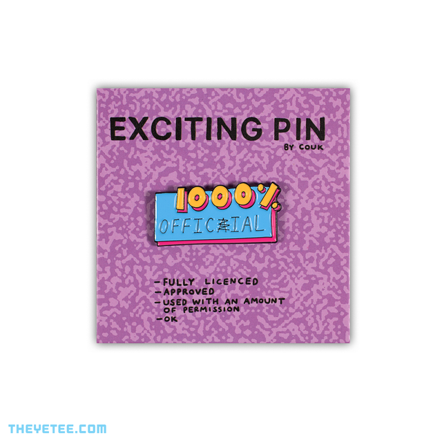 1000% Official Pin - 1000% Official Pin