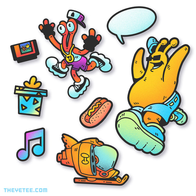 Groovin' Pals Sticker Pack - Groovin' Pals Sticker Pack
