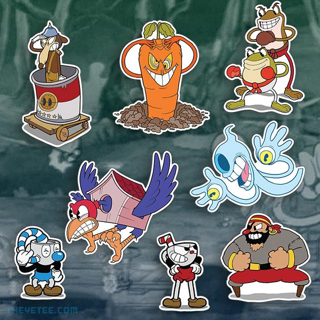 Cuphead Stickers - Cuphead Stickers