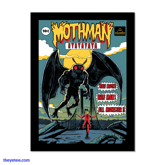 Mothman Lives! Poster - Mothman Lives! Poster