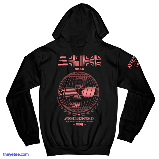 Awesome Games Done Quick 2020.Agdq 2020 Attendee Hoodie The Yetee