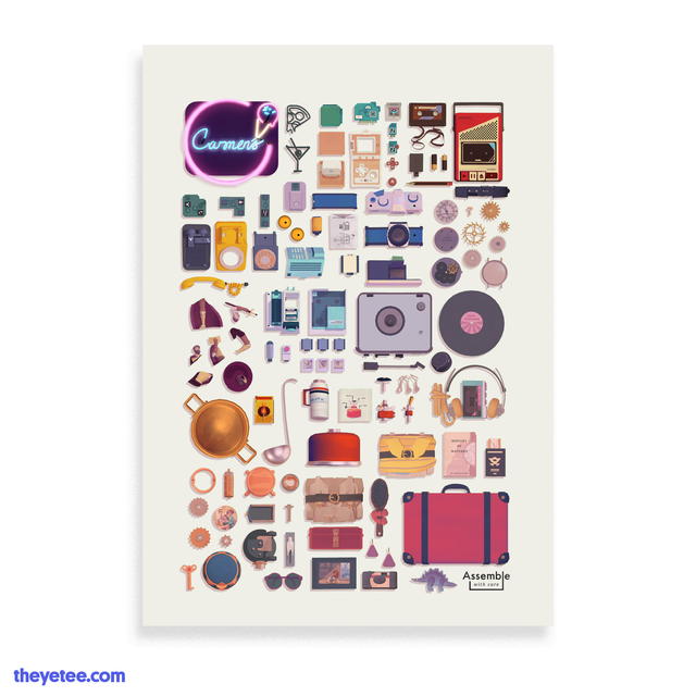 Assemble With Care Print - Assemble With Care Print