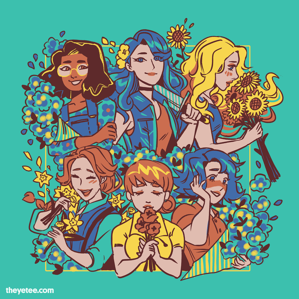 Bachelorette Bouquet The Yetee ← scroll for more sizes →. usd