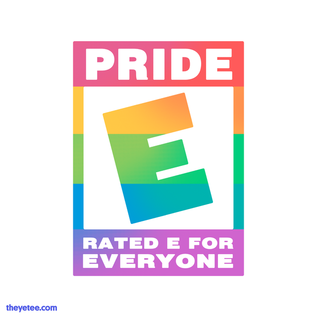 E For Everyone Pride The Yetee To find your foot's length, measure from the tip of the heel to. usd