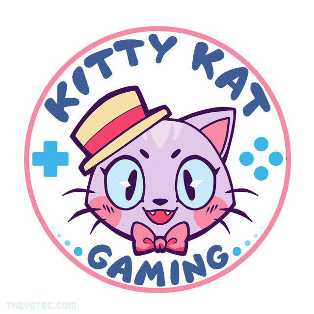 Kitty Kat Gaming Logo Baseball Tee