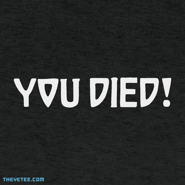 You Died!