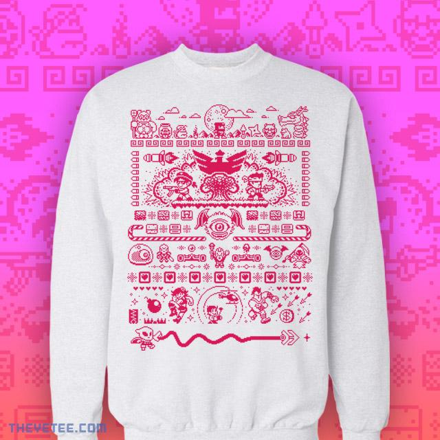 Tribute Games Holiday Sweater - Tribute Games Holiday Sweater