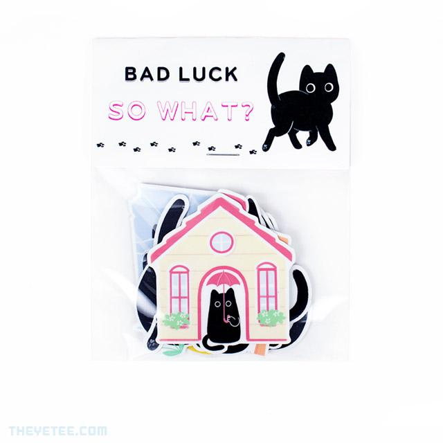 Bad Luck, So What? Sticker Pack - Bad Luck, So What? Sticker Pack