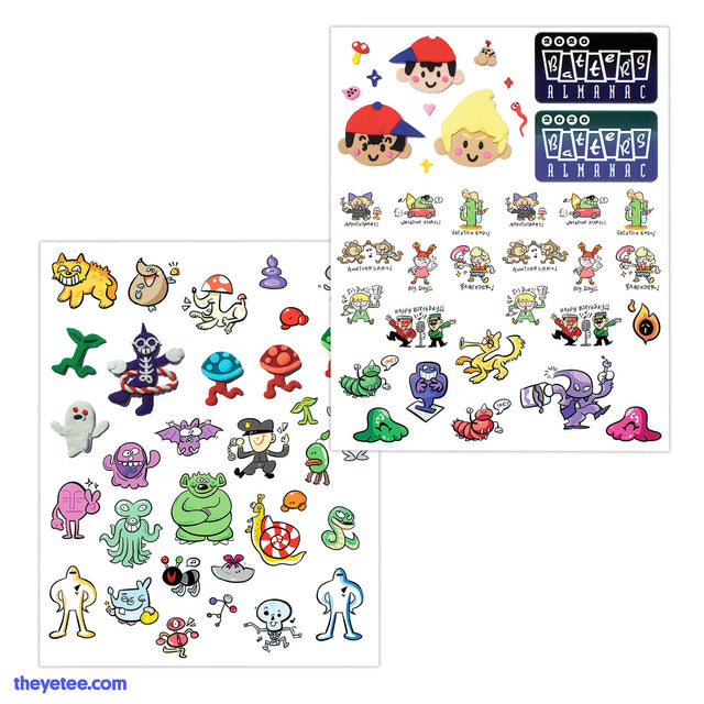 Batter's Almanac 2020 Sticker Set - Batter's Almanac 2020 Sticker Set