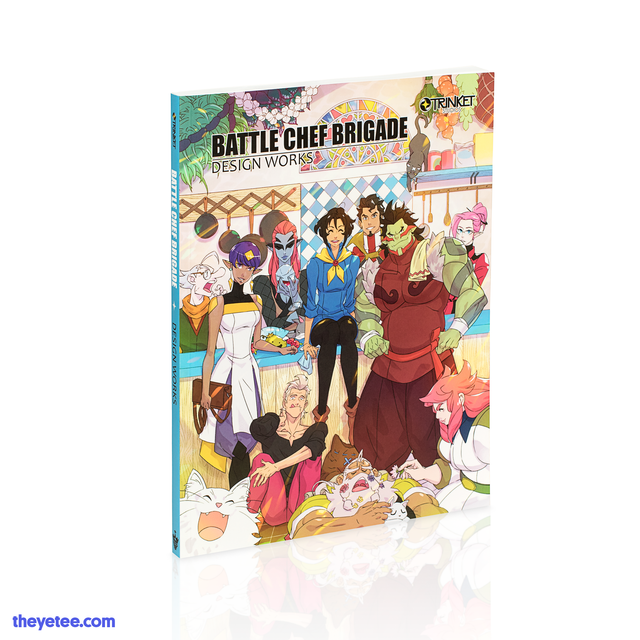 Battle Chef Brigade Artbook - Battle Chef Brigade Artbook