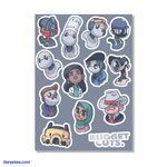 Budget Cuts Sticker Pack - Budget Cuts Sticker Pack