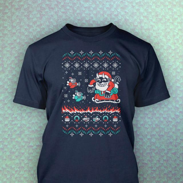 Tidings of Cuphead Tee - Tidings of Cuphead Tee