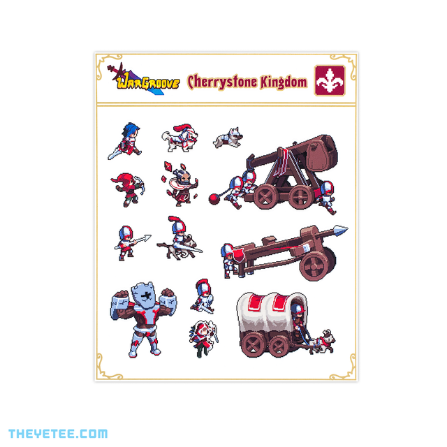Cherrystone Sticker Sheet - Cherrystone Sticker Sheet