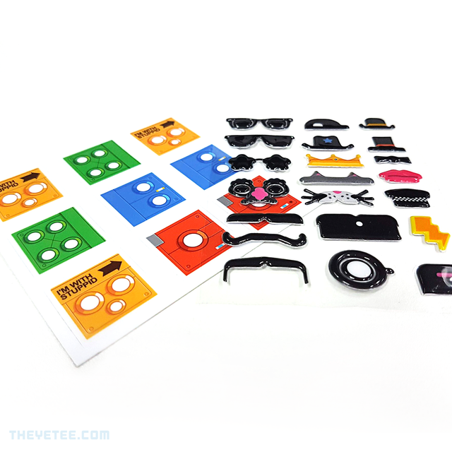 DeathSquared Stickers! - DeathSquared Stickers!