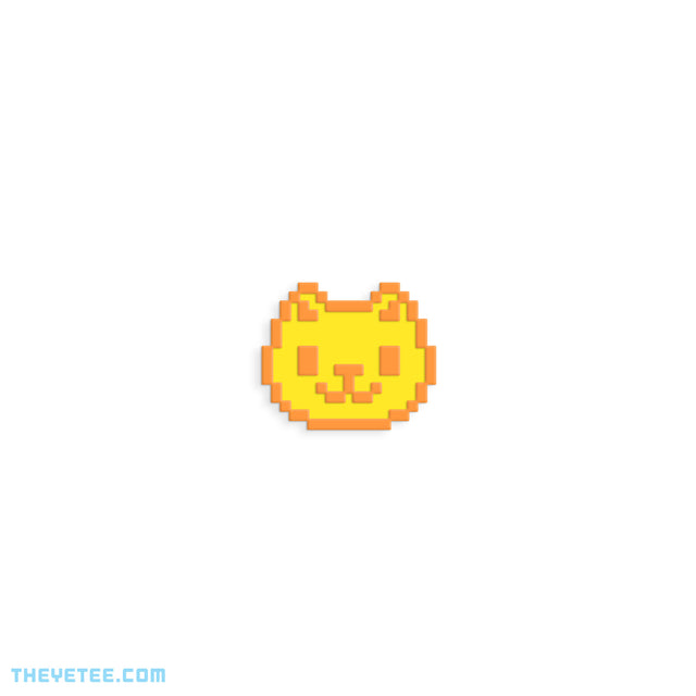 Pixel Kitty Pin