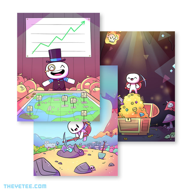 Forager Poster Pack 2 - Forager Poster Pack 2