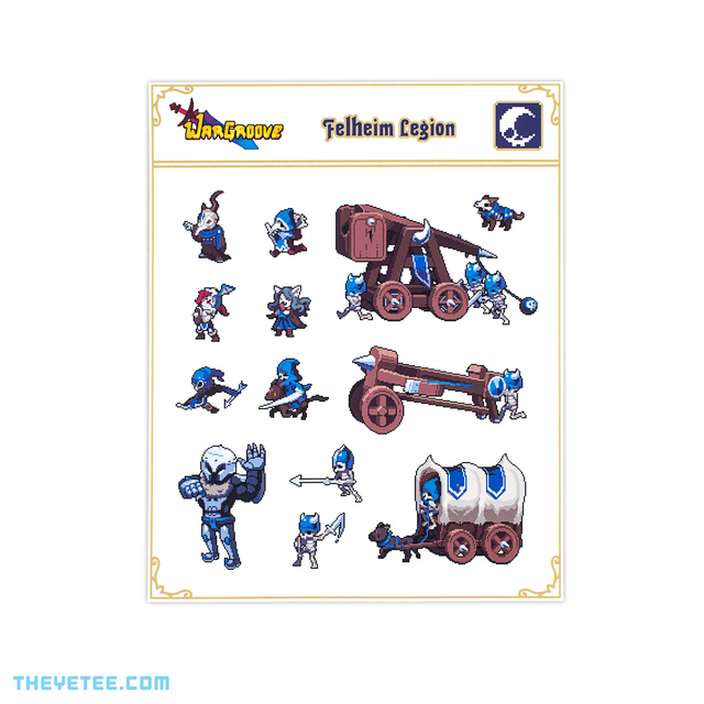 Felheim Sticker Sheet - Felheim Sticker Sheet