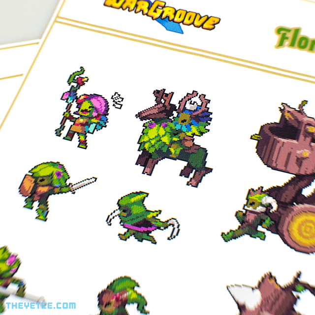 Floran Sticker Sheet