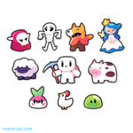 Forager Sticker Pack - Forager Sticker Pack