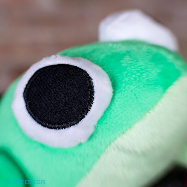 Frog in a Car Plush