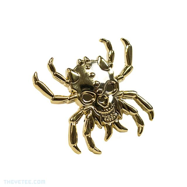 Gold Spider Pin