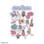 Garden of the Sea Sticker Sheet - Garden of the Sea Sticker Sheet