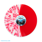 Split splatter transparent red vinyl. - Gradius
