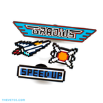 Gradius Pin Set - Gradius Pin Set