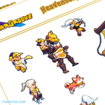 Heavensong Sticker Sheet - Heavensong Sticker Sheet