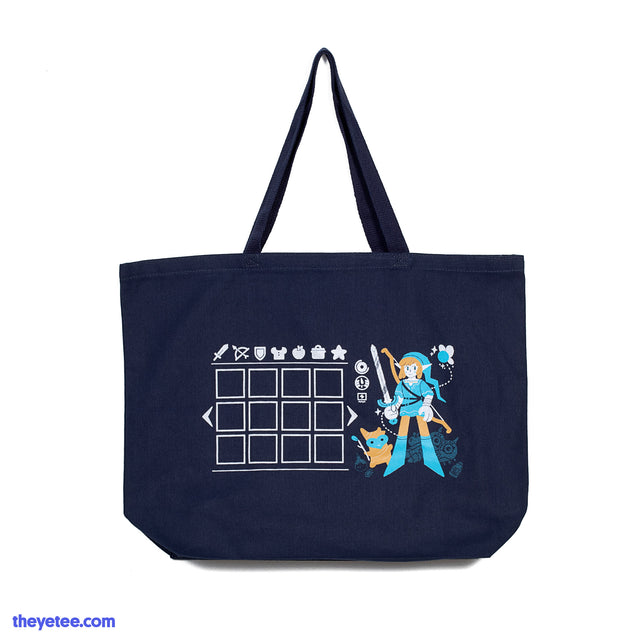 Hero's Inventory Tote Bag - Hero's Inventory Tote Bag