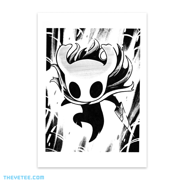 Hollow Knight Screenprint 1