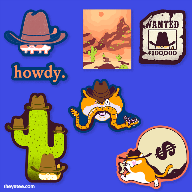 howdy. Sticker Pack - howdy. Sticker Pack
