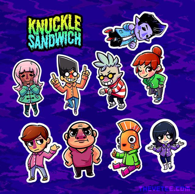 Knuckle Sandwich Stickerpack #1 - Knuckle Sandwich Stickerpack #1