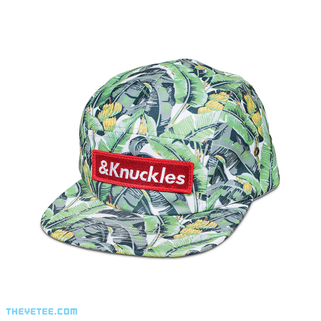 &Knuckles 5 Panel Jungle Cap