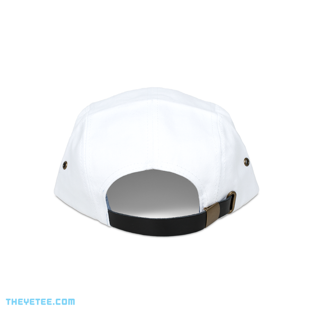 &Knuckles 5 Panel White Cap