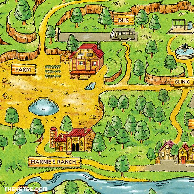 Stardew Valley Map   The Yetee on