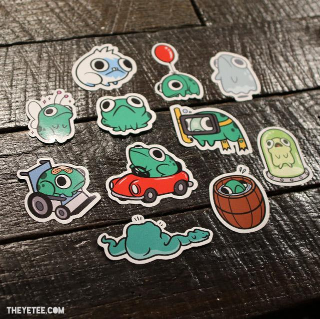 Frogs Sticker Pack