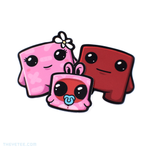 Meat Boy Sticker Pack - Meat Boy Sticker Pack