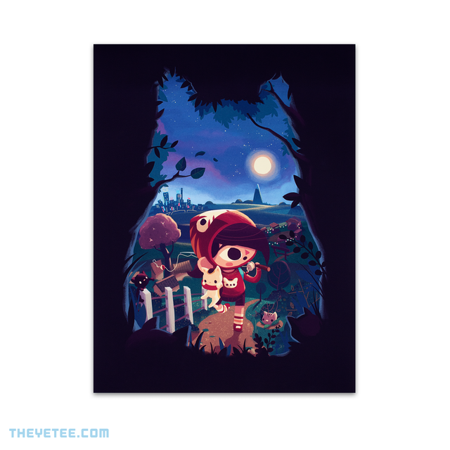 Mineko's Night Market Poster - Mineko's Night Market Poster