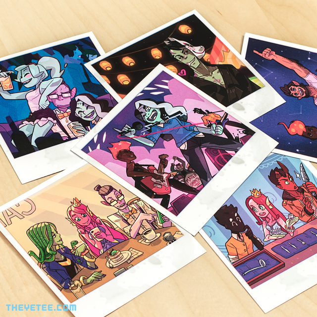 Monster Prom Photo Pack 1