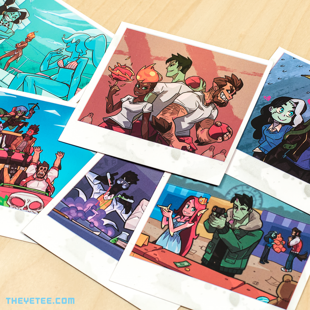 Monster Prom Photo Pack 2