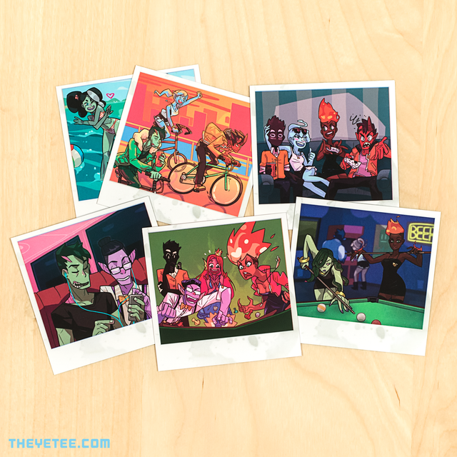 Monster Prom Photo Pack 3