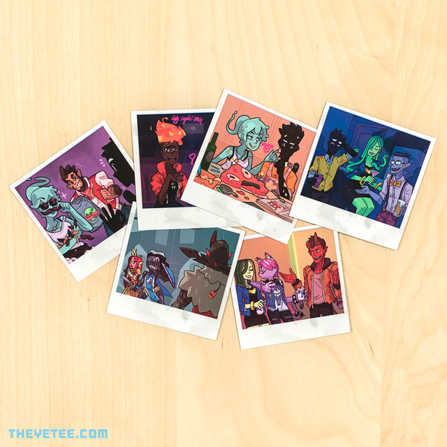 Monster Prom Photo Pack 4