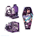 A Mortician's Tale Sticker Set - A Mortician's Tale Sticker Set