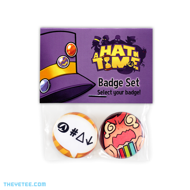 Mumble Faster Hatter Button Set - Mumble Faster Hatter Button Set